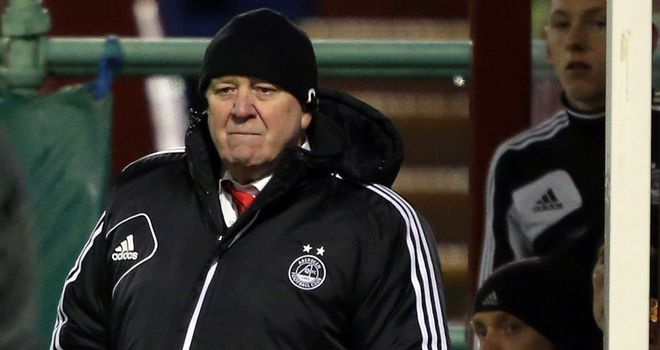 Craig Brown: Aberdeen manager disappointed by 1-0 home defeat to Ross County