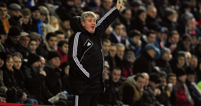 Steve Bruce: Relieved to still be in the FA Cup