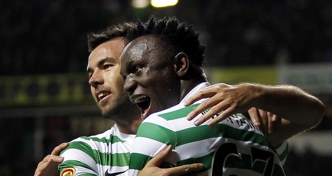 Victor Wanyama: Scored in front of Sir Alex Ferguson on Tuesday