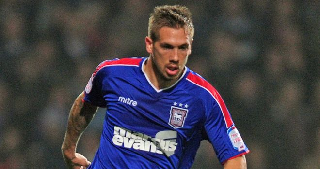 Luke Chambers: Opened scoring for Ipswich
