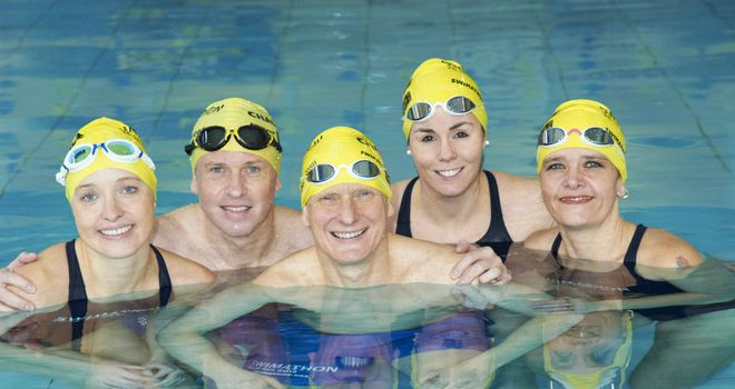 Duncan Goodhew: Swimathon Squad 2013 for Marie Curie Cancer Care