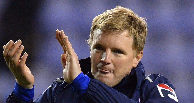 Eddie Howe: Hoping to guide Bournemouth into the Championship