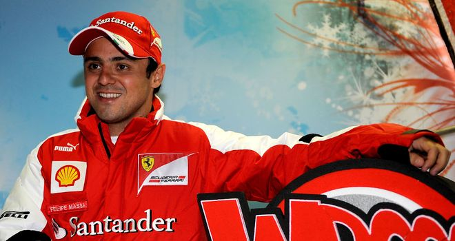 Felipe Massa: A happier man these days