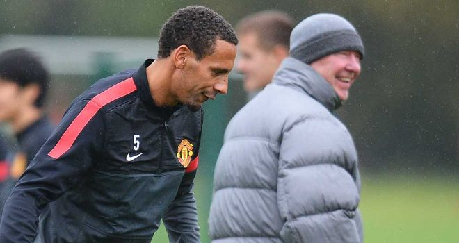 Rio Ferdinand: Expected to sign a new one-year contract at Manchester United