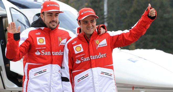 Fernando Alonso and Felipe Massa: Return for another season in 2013
