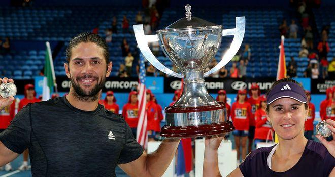 Fernando Verdasco and Anabel Medina Garrigues win the Hopman Cup for Spain