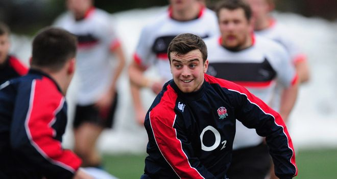 George Ford: Expected to start for England Saxons against Scotland A on Friday
