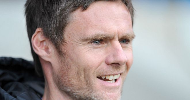 Graham Alexander: His job is safe