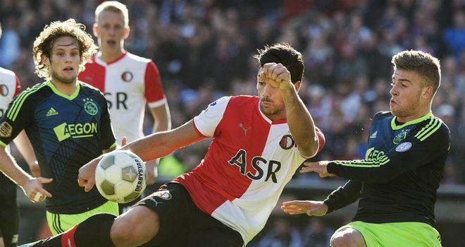 Graziano Pelle: Scored Feyenoord's winner