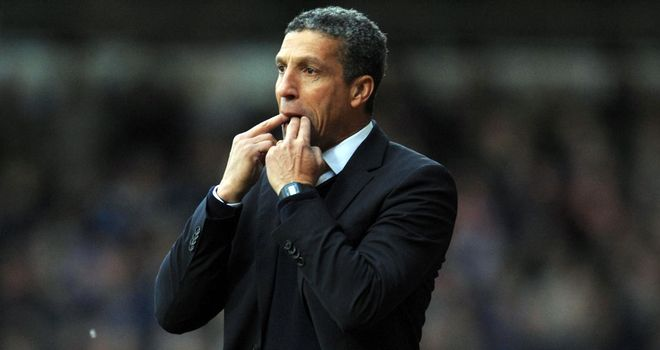 Chris Hughton: Battling to bring in new players