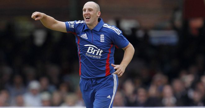James Tredwell: Rewarded bt ECB