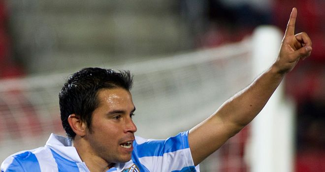 Javier Saviola: Among the Malaga goalscorers