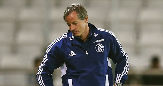 Jens Keller: Told his job is safe until the end of the season