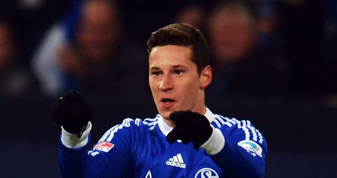 Julian Draxler was on target for Schalke
