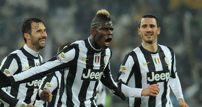 Paul Pogba: Scored twice at the weekend for Juventus