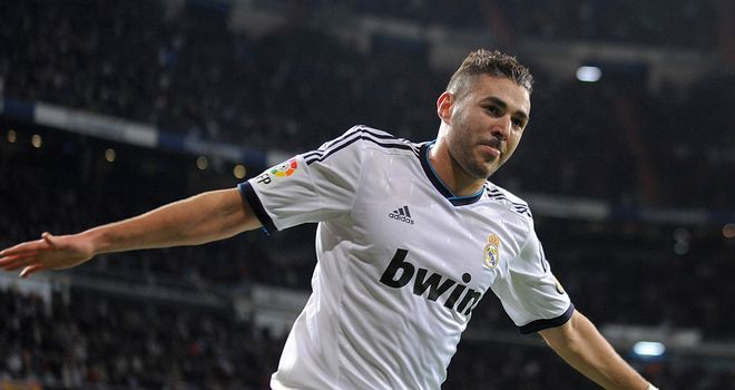 Karim Benzema: Scored for Real