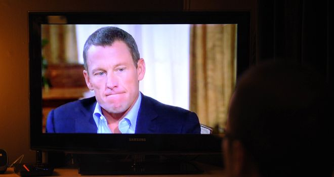 Lance Armstrong admits to Opray Winfrey that he took drugs