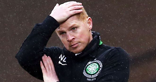 Neil Lennon: Vented his anger at Celtic after the semi-final defeat
