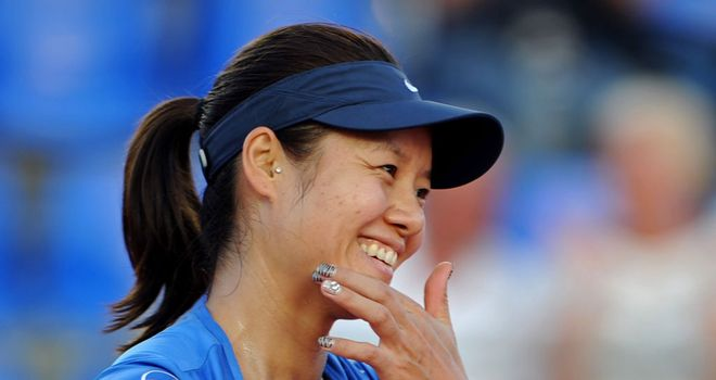 Li Na: All smiles after finishing off Klara Zakopalova following a nervy final set