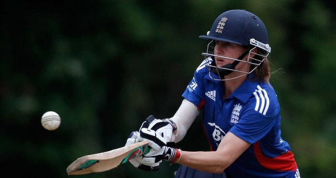 Lydia Greenway: has played 97 ODIs since making her debut against South Africa in 2003