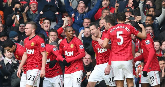 Manchester United: in pole position in title hunt