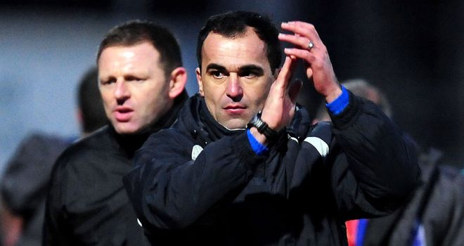 Roberto Martinez: Wigan manager confident of Premier League survival