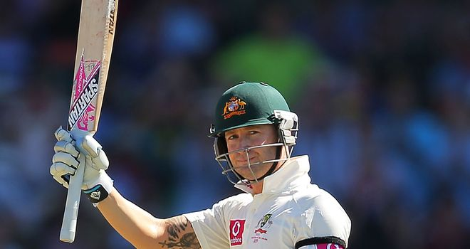 Michael Clarke: Did not offer up any excuses for heavy Australia defeat
