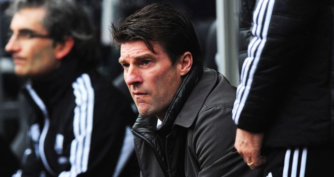 Michael Laudrup: Feels Arsenal deserved victory
