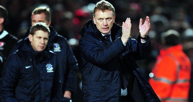 David Moyes: Everton boss shocked by dismissal of Southampton boss Nigel Adkins