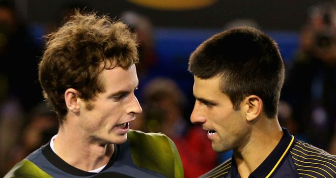 Andy Murray refused to blame injury for defeat to Novak Djokovic