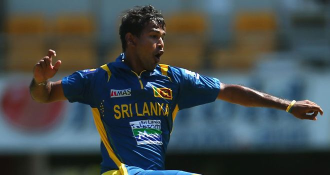 Nuwan Kulasekara: returned 5-22 from his 10 overs in Brisbane