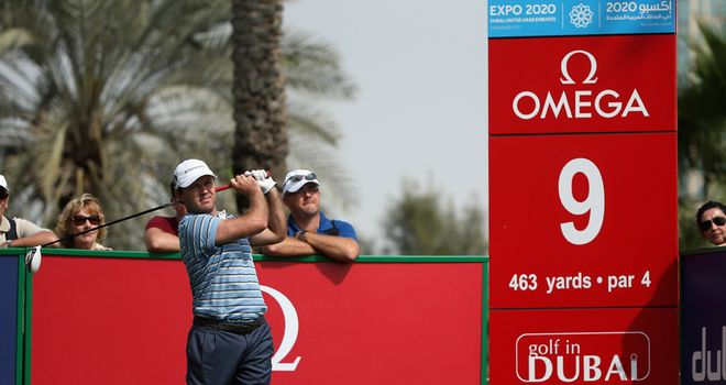 Richard Sterne: Shot a superb 62 to lead by one shot after the opening round in Dubai
