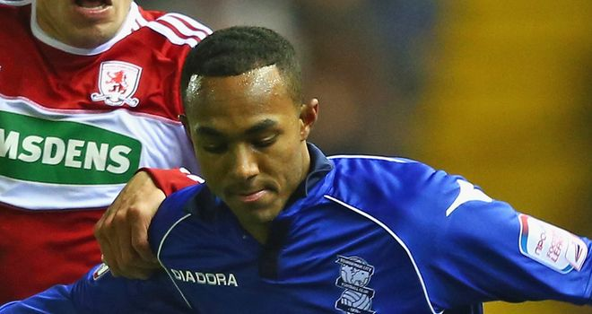 Rob Hall: Loan deal with Birmingham extended until 16 March