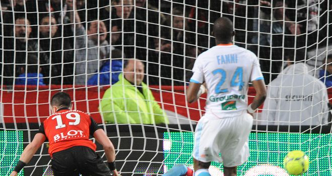 Romain Alessandrini: Scores late equaliser for Marseille