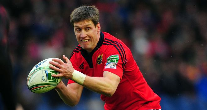 Ronan O'Gara: In fine form in Edinburgh