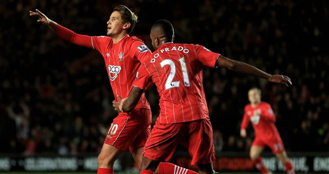 Gaston Ramirez: Uruguay international only moved to Southampton in the summer