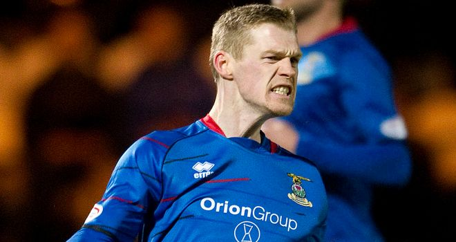 Billy McKay: Second-half penalty clinched three points for Caley Thistle