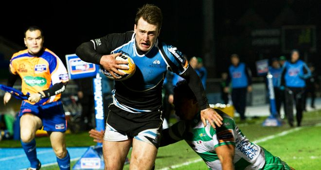 Stuart Hogg: Scored two of Glasgow's five tries against Treviso