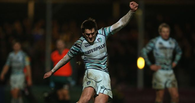 Toby Flood in action against Worcester last Friday