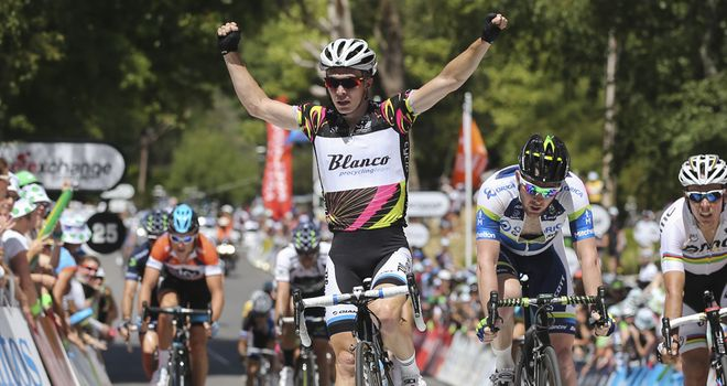 Tom Slagter: Takes big win as Thomas (fourth) retains lead