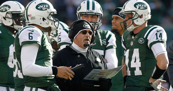 Tony Sparano: Fired after disappointing season as Jets OC