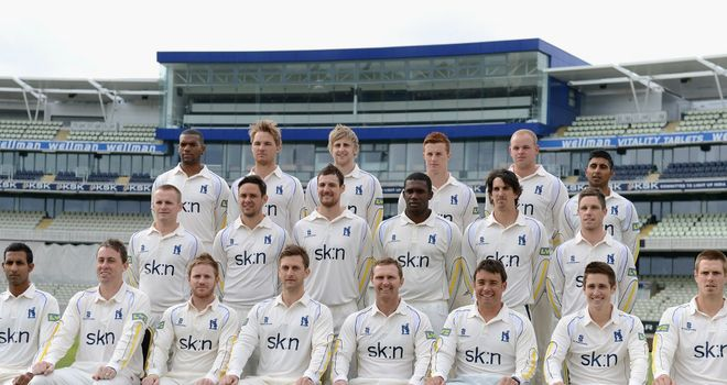 County champions Warwickshire: set to launch new season