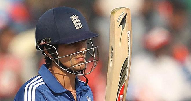 Alastair Cook: Scored 76 in Mohali