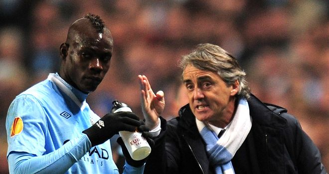 Mario Balotelli: Is unlikely to move to AC Milan, according to Massimiliano Allegri