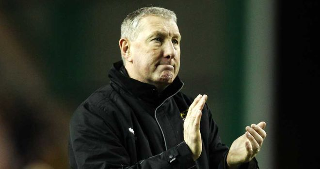 Terry Butcher: His side now trail Celtic by 18 points