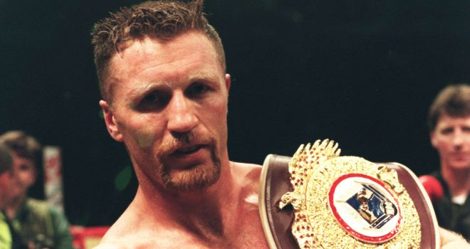 Steve Collins: Had a successful reign as WBO super-middleweight champion