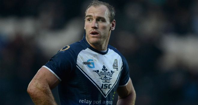 Gareth Ellis: joined the Black and Whites on a three-year contract