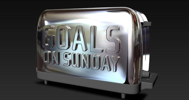 Goals on Sunday: 10.30am, Sky Sports 1