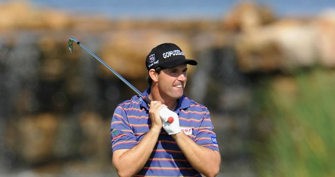 Padraig Harrington: Has heaped praise on fellow Irishman McGinley
