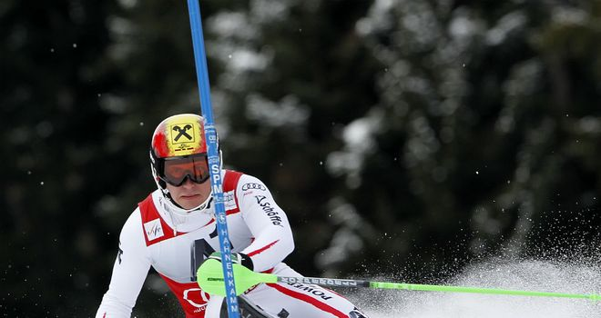 Marcel Hirscher: Won the Kitzbuehel World Cup slalom on Sunday